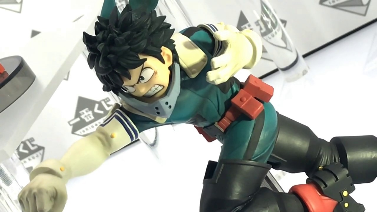 My Hero Academia Shoto Todoroki Figure FIGHTING HEROES Ichibankuji Banpresto