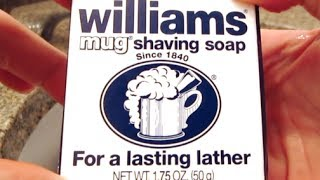 Williams Mug Shaving Soap - Lather Review
