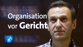 Prozess gegen Nawalny-Organisation beginnt