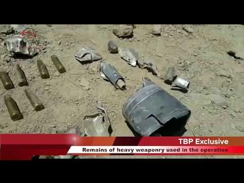 Exclusive footage of Pakistani military operation near Noshki - The Balochistan Post