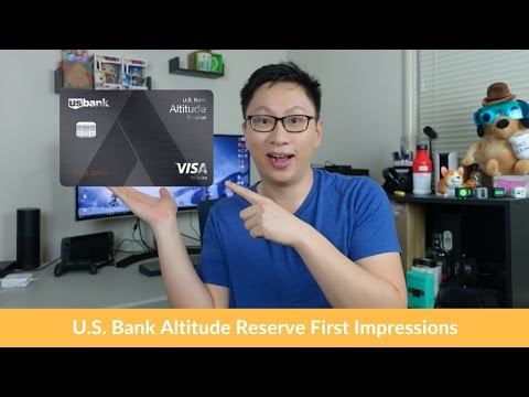 U.S. Bank Altitude Reserve Visa Infinite Card: First Impressions