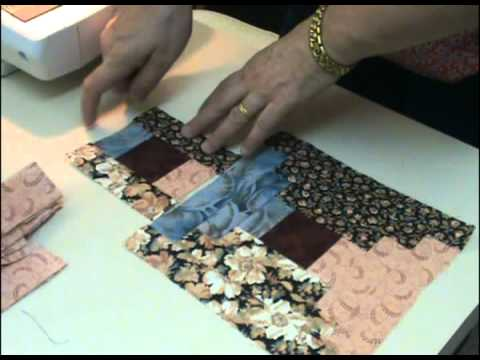 Courthouse Steps Quilt - YouTube : free courthouse steps quilt pattern - Adamdwight.com