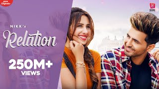 Relation Nikk Ft Mahira Sharma Official Music
