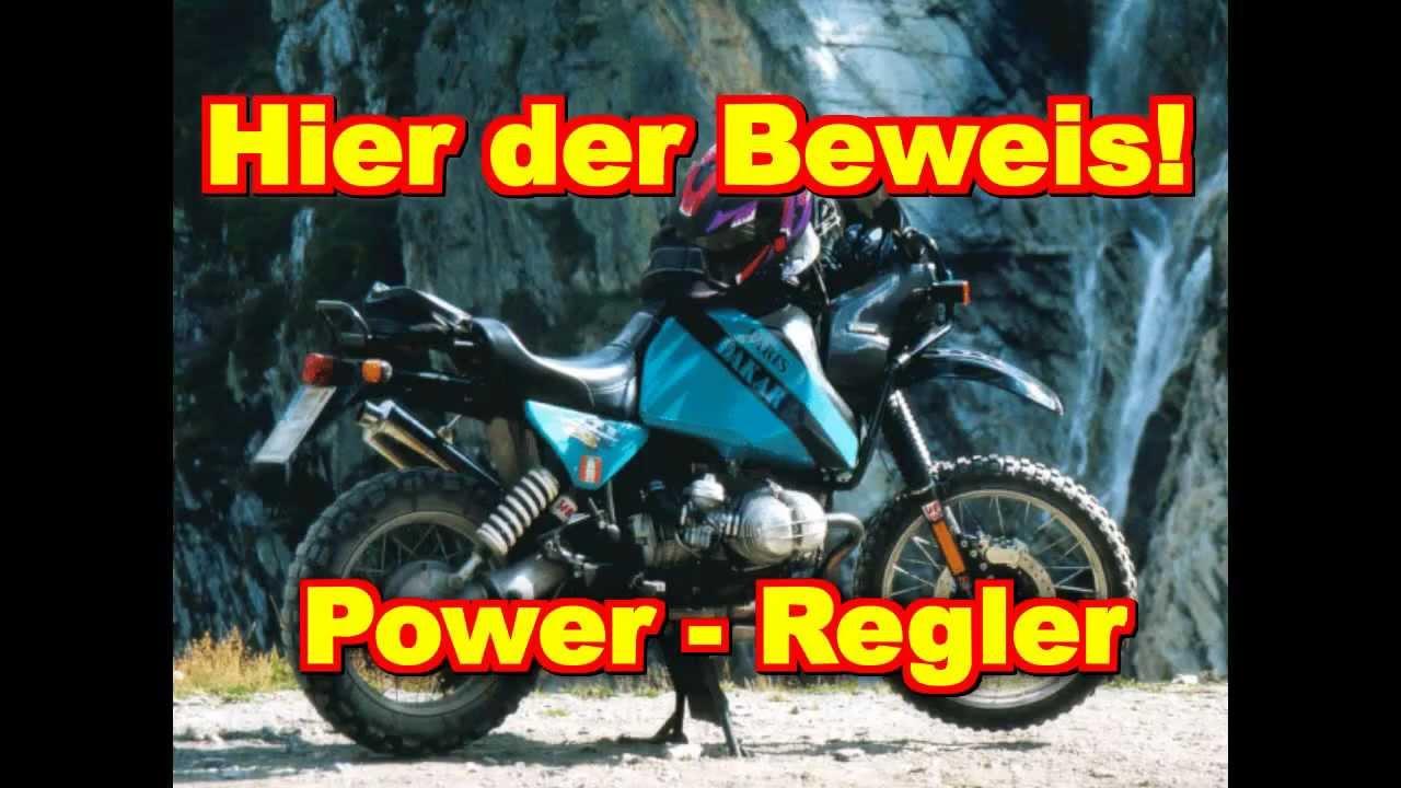 14,5 Volt Lichtmaschinenregler für BMW R80 R100 GS - YouTube