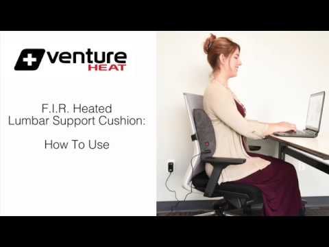 Heat Therapy Lumbar Support Cushion