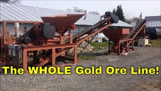 mbmmllc com complete gold ore processing line jaw crusher hammer mill and shaker table