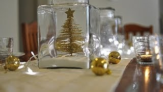 Ideas For The Christmas Table