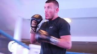 FIGHT OF THE YEAR? LIAM WILLIAMS *OFFICIAL* PUBLIC WORKOUT WITH DOMINC INGLE / VACANT BRITISH TITLE