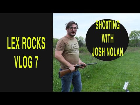 lex rocks vlog 7   Shooting with Josh Nolan