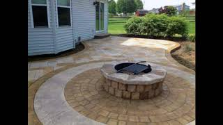 Residential Stamped Concrete Patios Walks & Steps,Design Ideas for Stamped Concrete Patios #2