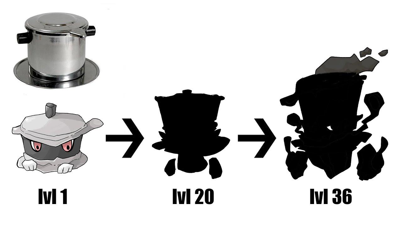 What If Coffee phin Were Pokemon Evolution ?