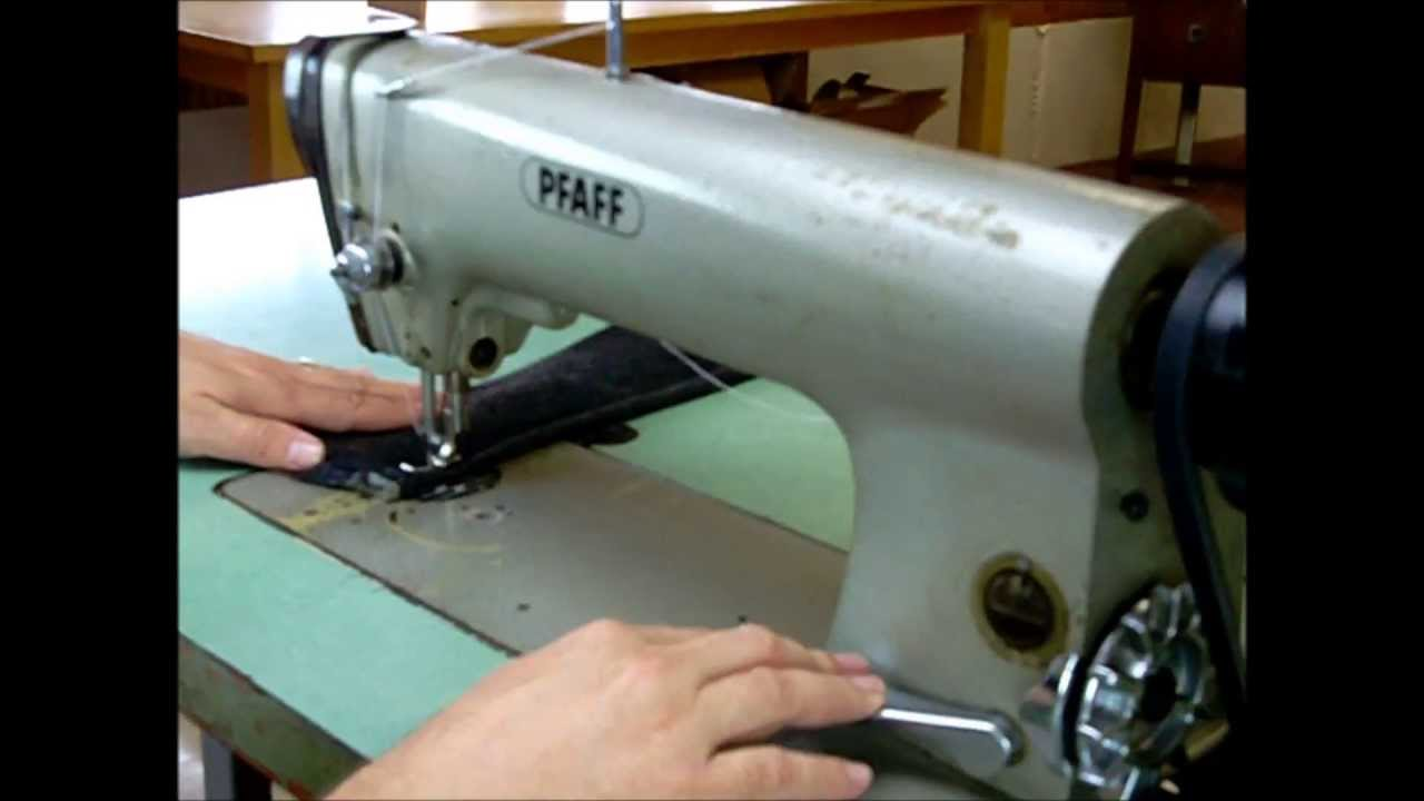 Pfaff 463 Industrial Sewing Machine With Table Sews Leather