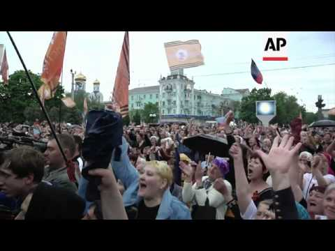 Pro-Russia separatists declare independence for Luhansk region