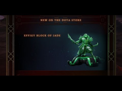 видео: Нефритовые статуи dota 2 [effigy block of jade]