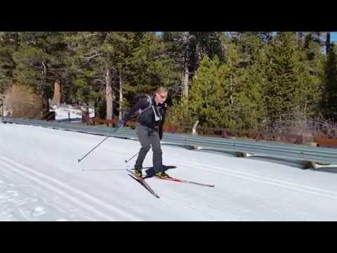 Level 3 Skate Skiing student -Larry