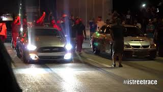 718 Turbo S550 Mustang Vs Dragset Evolution... $6,000 on The Streets