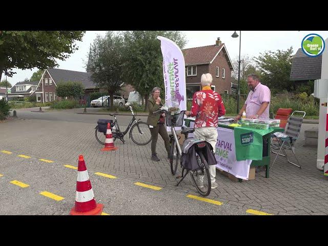 Mobiele Milieustraat in Reeuwijk-Dorp