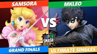 SSC 2019 Smash Ultimate Grand Finals - eUnited | Samsora (Peach) VS FOX MVG | MkLeo (Joker)