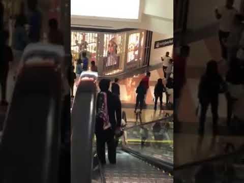 Video of disturbance at Hanes Mall