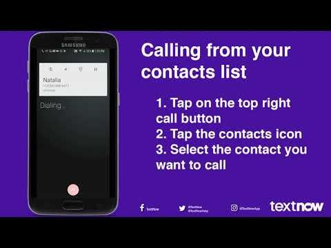 How Do I Call Using TextNow? – TextNow Support