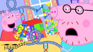 Peppa Pig Official Channel 🤩 The Biggest Marble Run Challenge with Peppa Pig