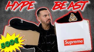 HYPEBEAST UNBOXING (Supreme & Yeezy) | Always Overdressed