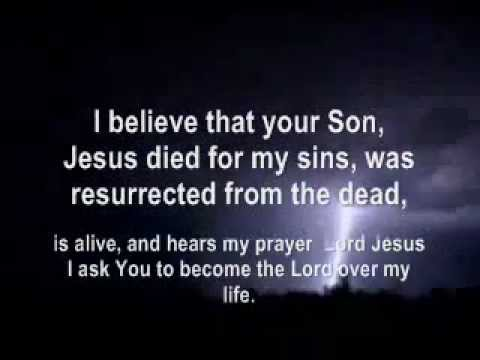 Prayer of Salvation - Jesus is the Way, the Truth, and the Life!