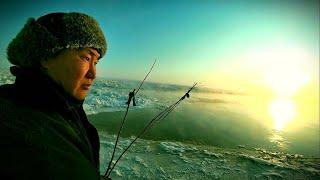 ОЧЕНЬ ОПАСНАЯ ДЛЯ ЖИЗНИ РЫБАЛКА на РЯПУШКУ. кундевка Якутия Yakutia