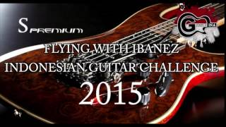[BACKING TRACK] FLYING WITH IBANEZ INDONESIAN GUITAR CHALLENGE 2015
