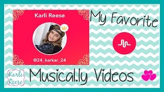 Gambar cover KARLI REESE'S MUSICAL.LY COMPILATION VIDEO
