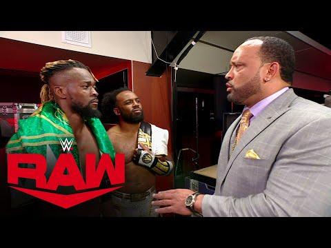 MVP attempts to drive a wedge between Kofi Kingston & Xavier Woods: Raw, June 14, 2021
