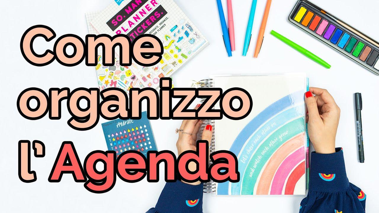 Come organizzo la mia Agenda - Valina