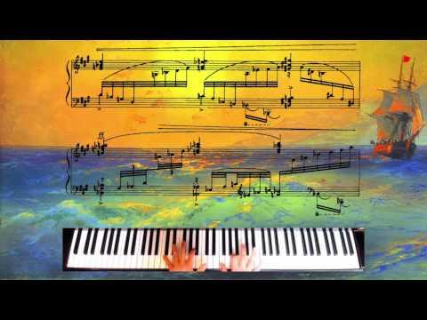 Ravel - Une Barque Sur L'océan