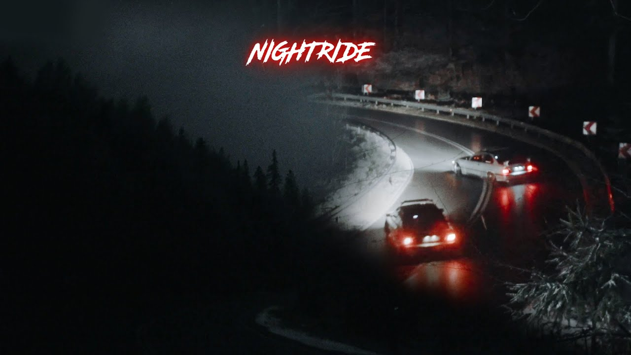 Saturday night in the mountains   NIGHTRIDE 4K