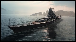 Epic Axis Battleships and Cruisers - The Yamato and Hindenburg | World of Warships Gameplay