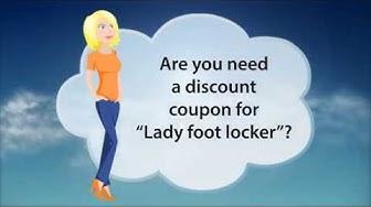 Lady Foot Locker coupon code