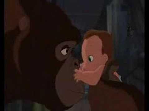 Tarzan... Baby Tarzan Meets Mom  / Conoce A Kala