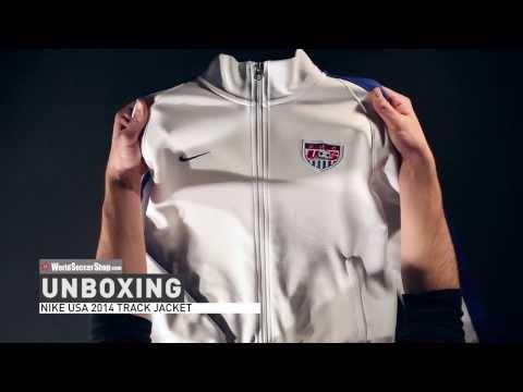 Nike USA 2014 Track Jacket - Unboxing