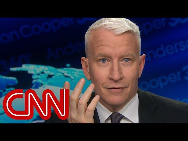 Anderson Cooper debunks Trump's shutdown claims
