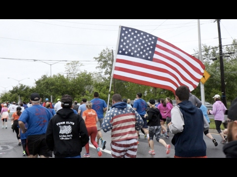 Will the rain stop in time for Monday's Memorial Day Run?