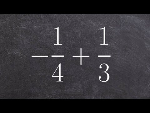 Adding fractions - Online tutor - Free Math Help