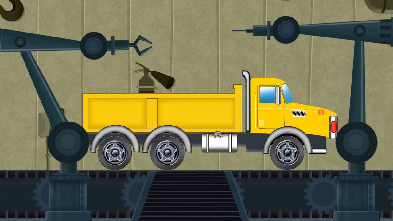 Loading Truck | Toy Factory | Vehicles For Children | kids videos