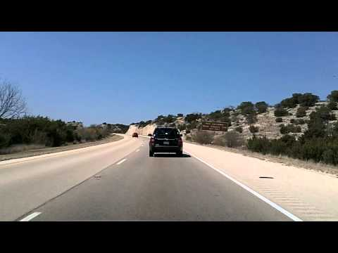 Interstate 10 Across Texas: Sonora to Sheffield