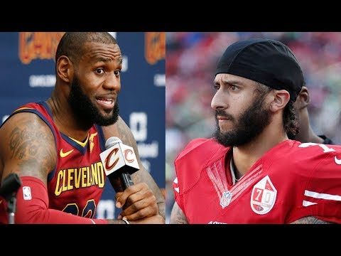 LeBron James Explains Why He Thinks Colin Kaepernick Still Isn't in the NFL