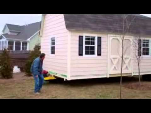 Cardinal Buildings   Garages, Storage Sheds, Shed Moving   YouTube