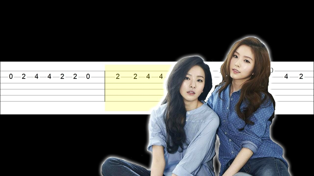 Red Velvet - IRENE SEULGI - Monster (Easy Guitar Tabs Tutorial)