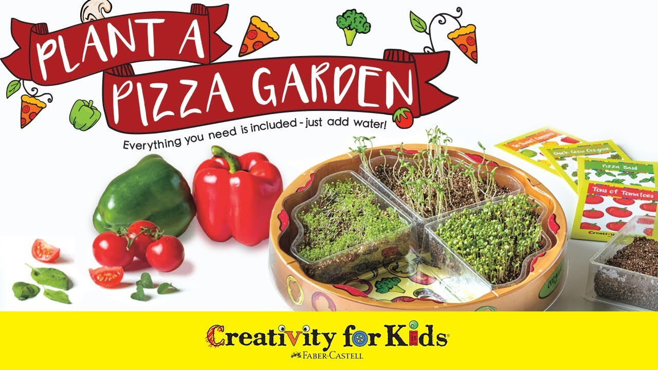 plant a pizza garden by creativity for kids - Pizza Garden