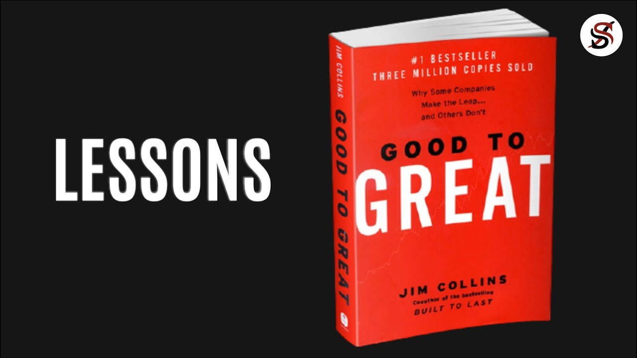 Good to Great | 5 Most Important Lessons | Jim Collins (AudioBook summary)