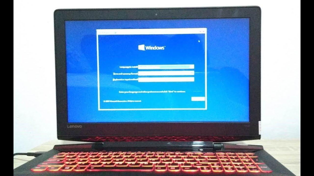 cara mudah install ulang laptop windows 10 menggunakan ...