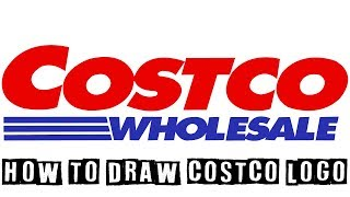 How Can You Draw Costco Logo?